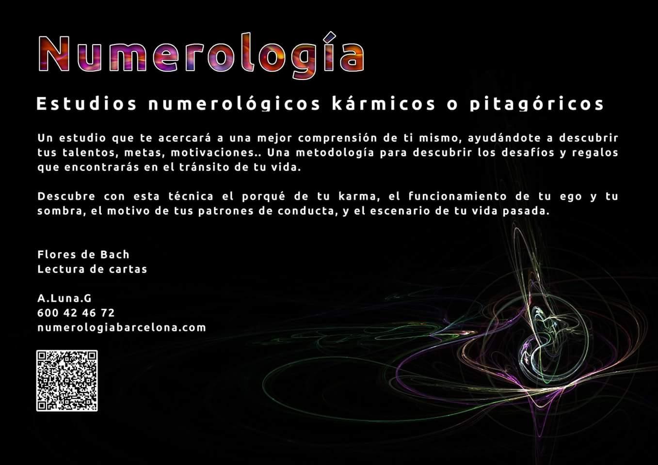 Estudios numerologicos | Numerología Barcelona